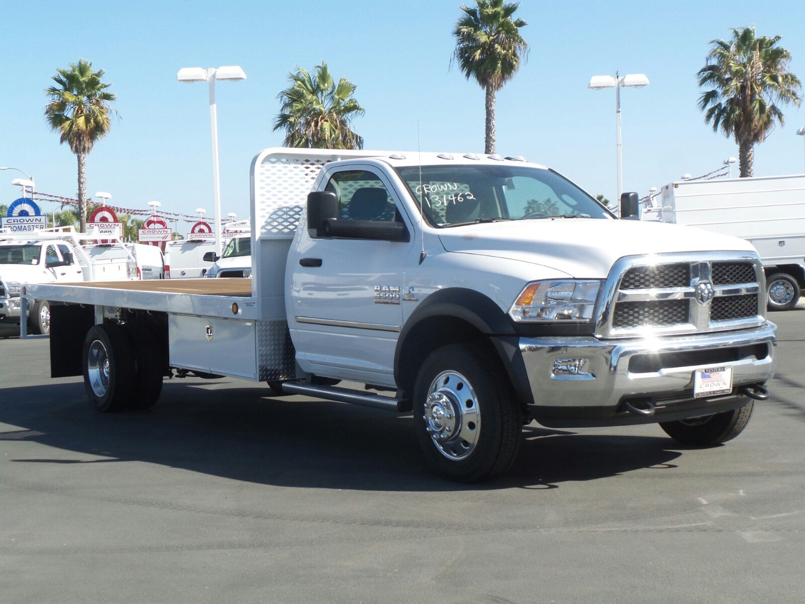 2017 Ram 5500 Regular Cab DRW, Scelzi Platform Body #D2230 - photo 4