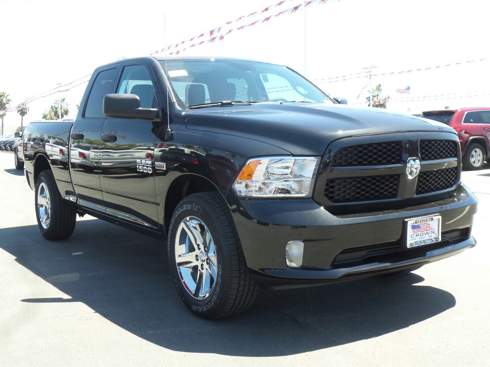 2017 Ram 1500 Quad Cab 4x4 Pickup #D2376 - photo 4