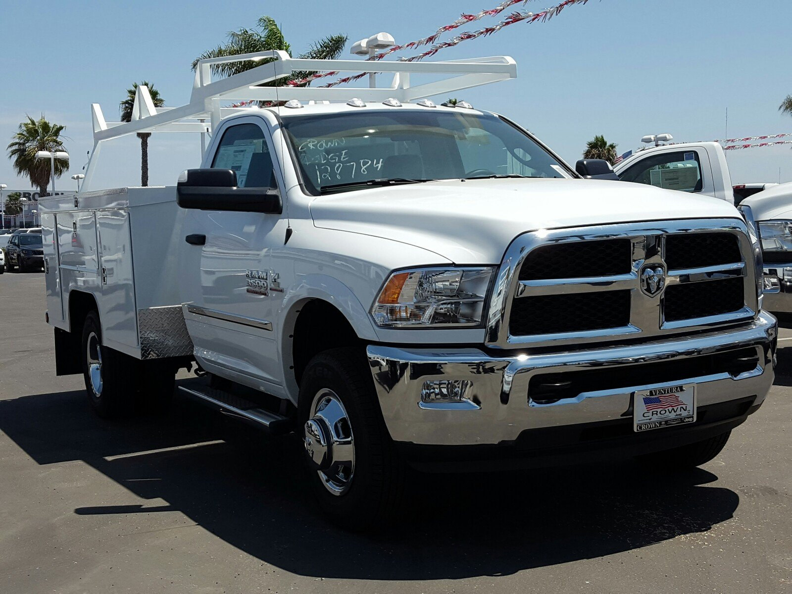 2017 Ram 3500 Regular Cab DRW 4x2,  Scelzi Signature Service Service Body #D2419 - photo 4