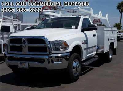 2017 Ram 3500 Regular Cab DRW 4x2,  Scelzi Signature Service Service Body #D2419 - photo 1