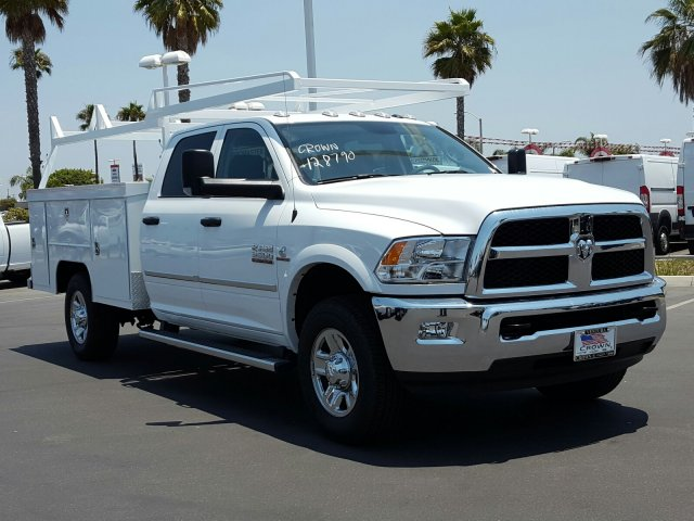 2017 Ram 3500 Crew Cab 4x4, Scelzi Service Body #D2421 - photo 4