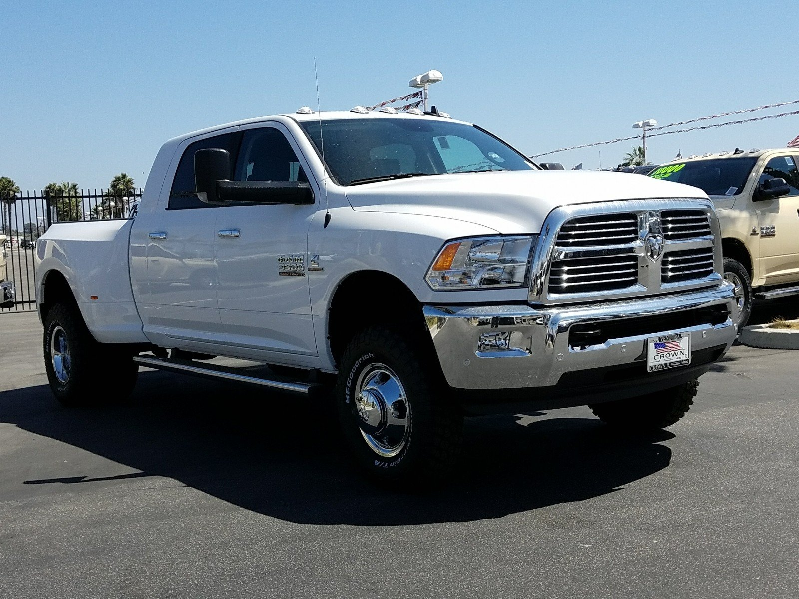 2017 Ram 3500 Mega Cab DRW 4x4 Pickup #D2539 - photo 4