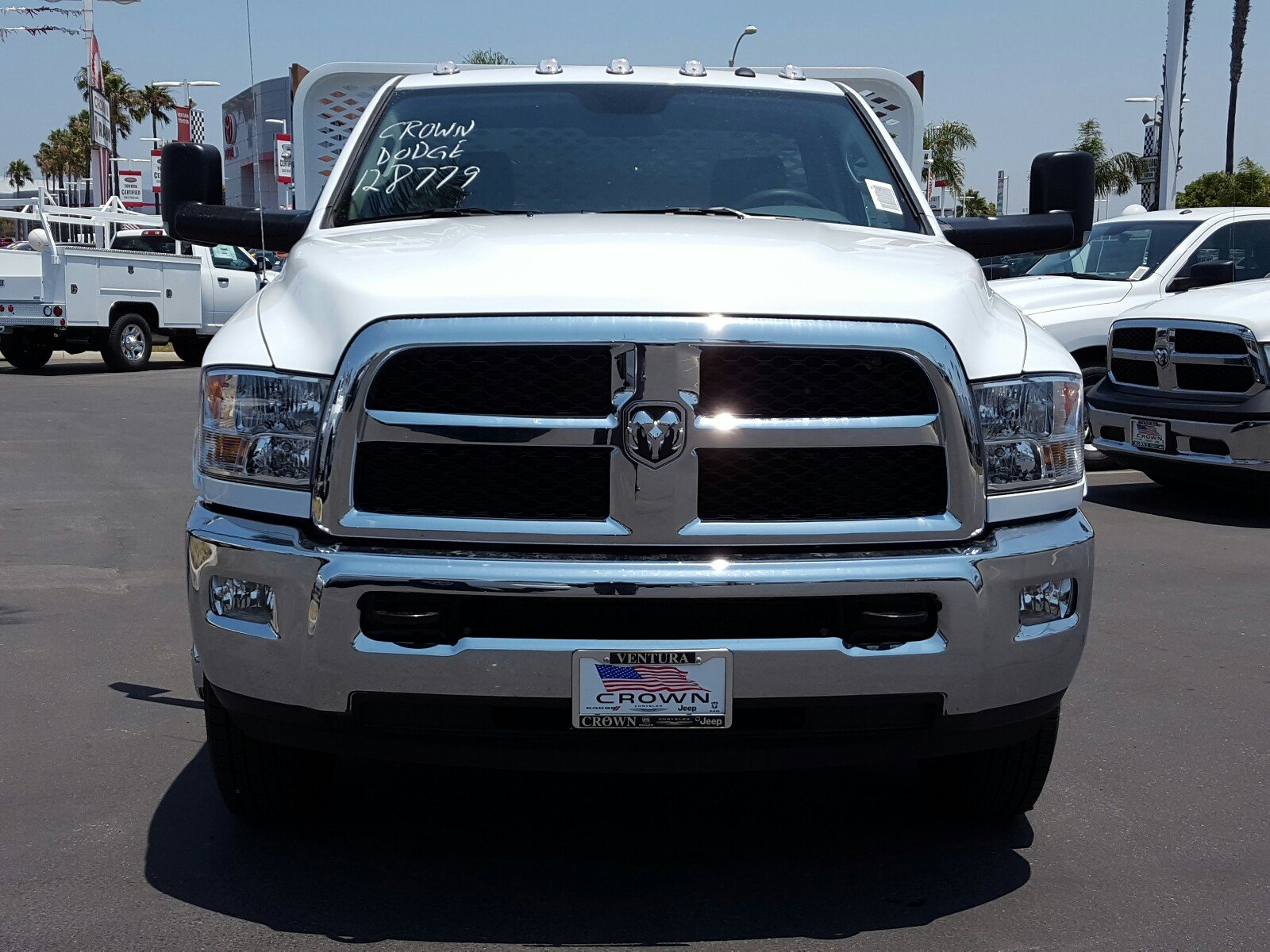 2017 Ram 3500 Regular Cab DRW, Scelzi Stake Bed #D2546 - photo 3