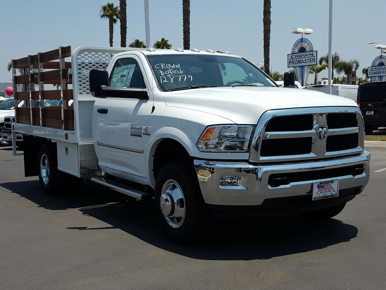 2017 Ram 3500 Regular Cab DRW, Scelzi Stake Bed #D2546 - photo 4