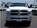 2017 Ram 3500 Regular Cab DRW, Scelzi Western Flatbed Stake Bed #D2546 - photo 3