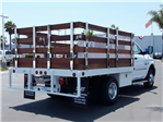 2017 Ram 3500 Regular Cab DRW, Scelzi Western Flatbed Stake Bed #D2546 - photo 6