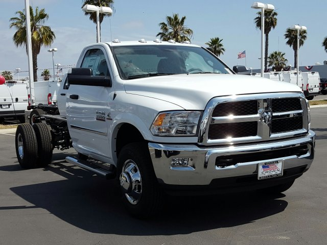 2017 Ram 3500 Regular Cab DRW 4x4, Cab Chassis #D2573 - photo 4