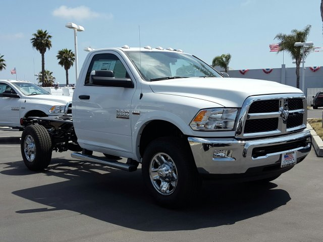 2017 Ram 3500 Regular Cab Cab Chassis #D2604 - photo 4