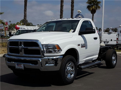 2017 Ram 3500 Regular Cab Cab Chassis #D2604 - photo 1