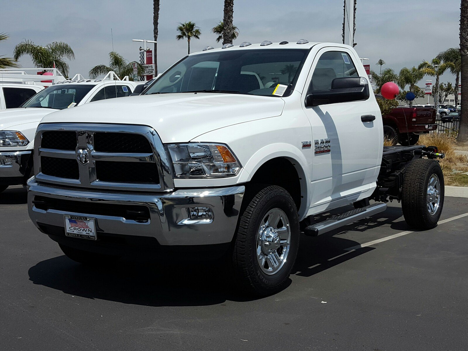 2017 Ram 3500 Regular Cab, Cab Chassis #D2612 - photo 1