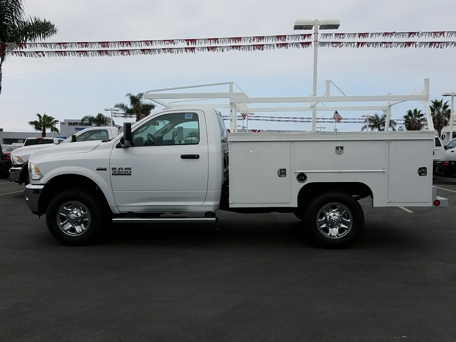 2017 Ram 3500 Regular Cab 4x4, Scelzi Service Body #D3039 - photo 10