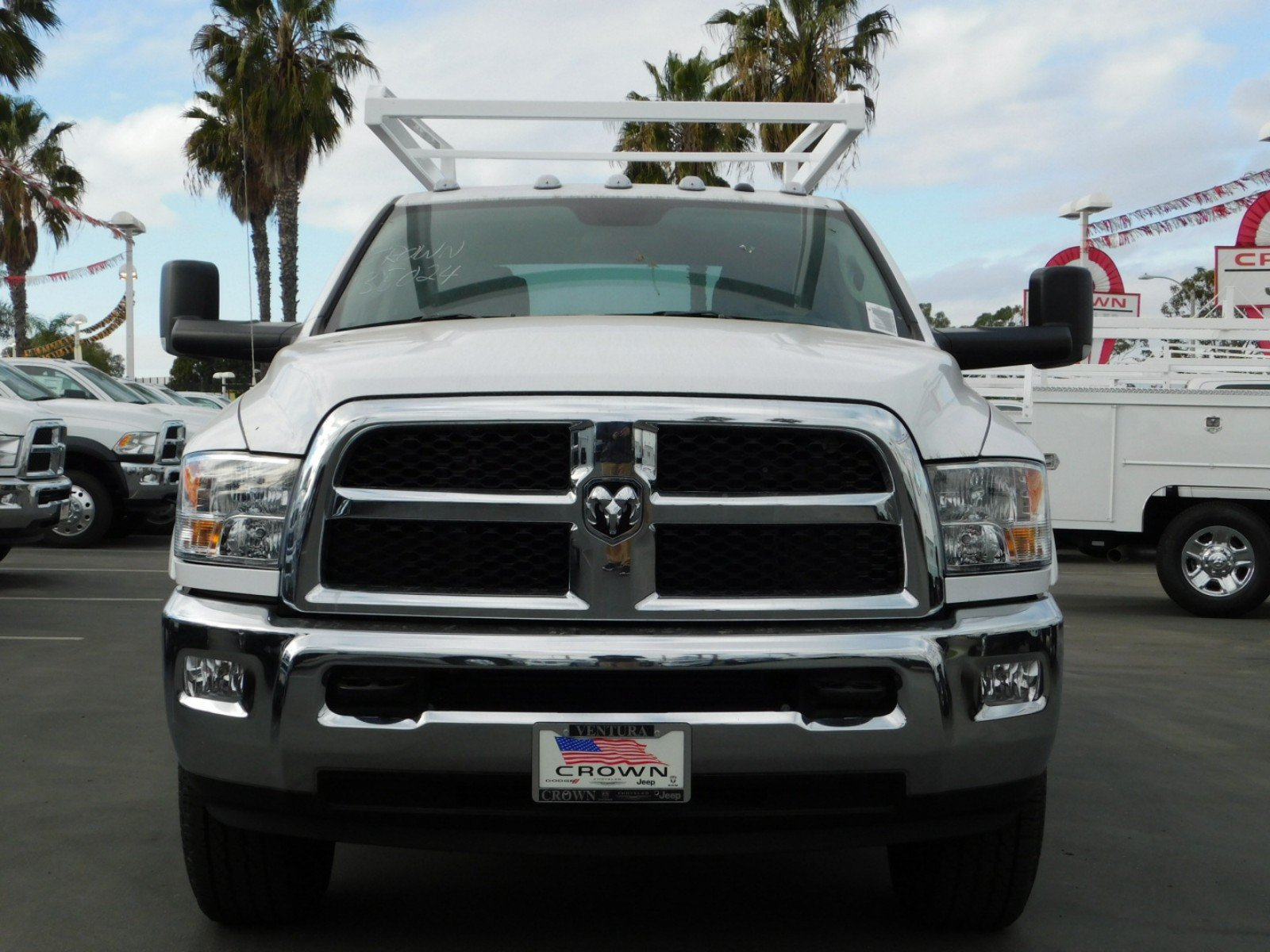 2017 Ram 3500 Crew Cab, Scelzi Crown Service Service Body #D3162 - photo 7