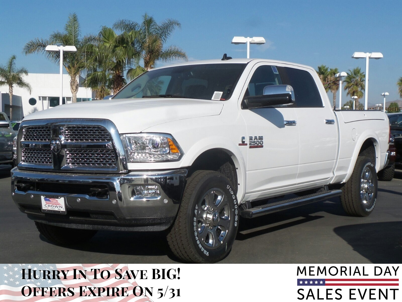 2018 Ram 2500 Crew Cab 4x4, Pickup #E1041 - photo 9
