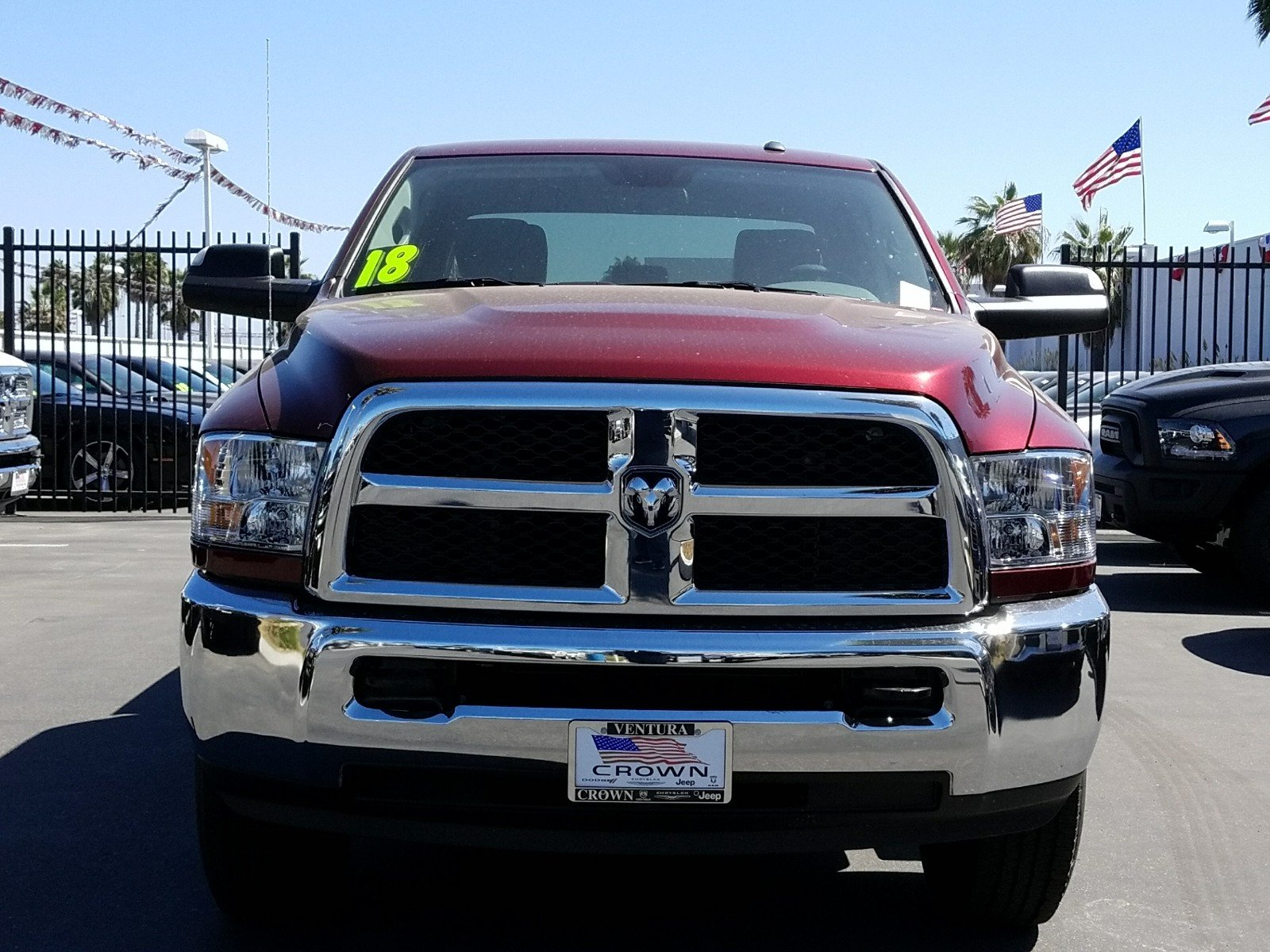 2018 Ram 2500 Crew Cab 4x4, Pickup #E1061 - photo 3