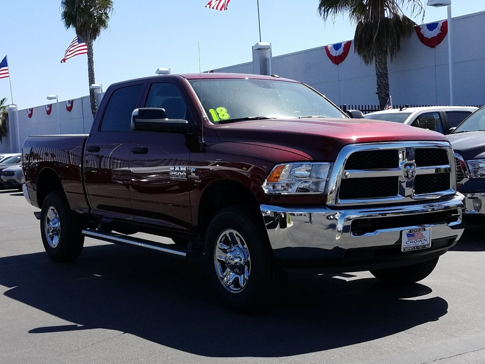 2018 Ram 2500 Crew Cab 4x4 Pickup #E1061 - photo 4