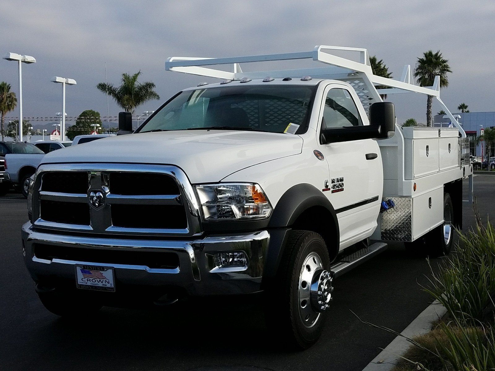 2018 Ram 4500 Regular Cab DRW, Scelzi Contractor Flatbed Contractor Body #E1078 - photo 1