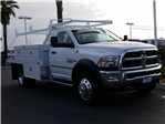 2018 Ram 4500 Regular Cab DRW, Scelzi Contractor Flatbed Contractor Body #E1078 - photo 4