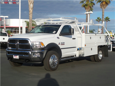 2018 Ram 4500 Regular Cab DRW,  Scelzi Contractor Flatbed Contractor Body #E1089 - photo 1