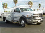 2018 Ram 4500 Regular Cab DRW,  Scelzi Contractor Flatbed Contractor Body #E1089 - photo 4