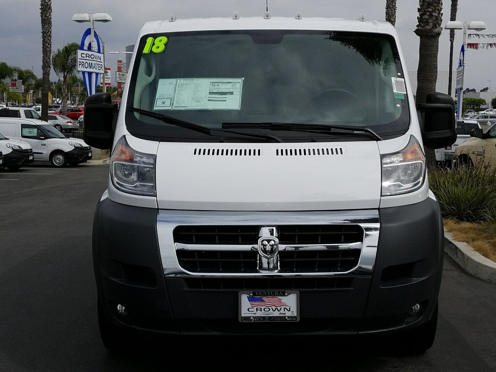 2018 ProMaster 1500 Standard Roof,  Empty Cargo Van #E1092 - photo 3