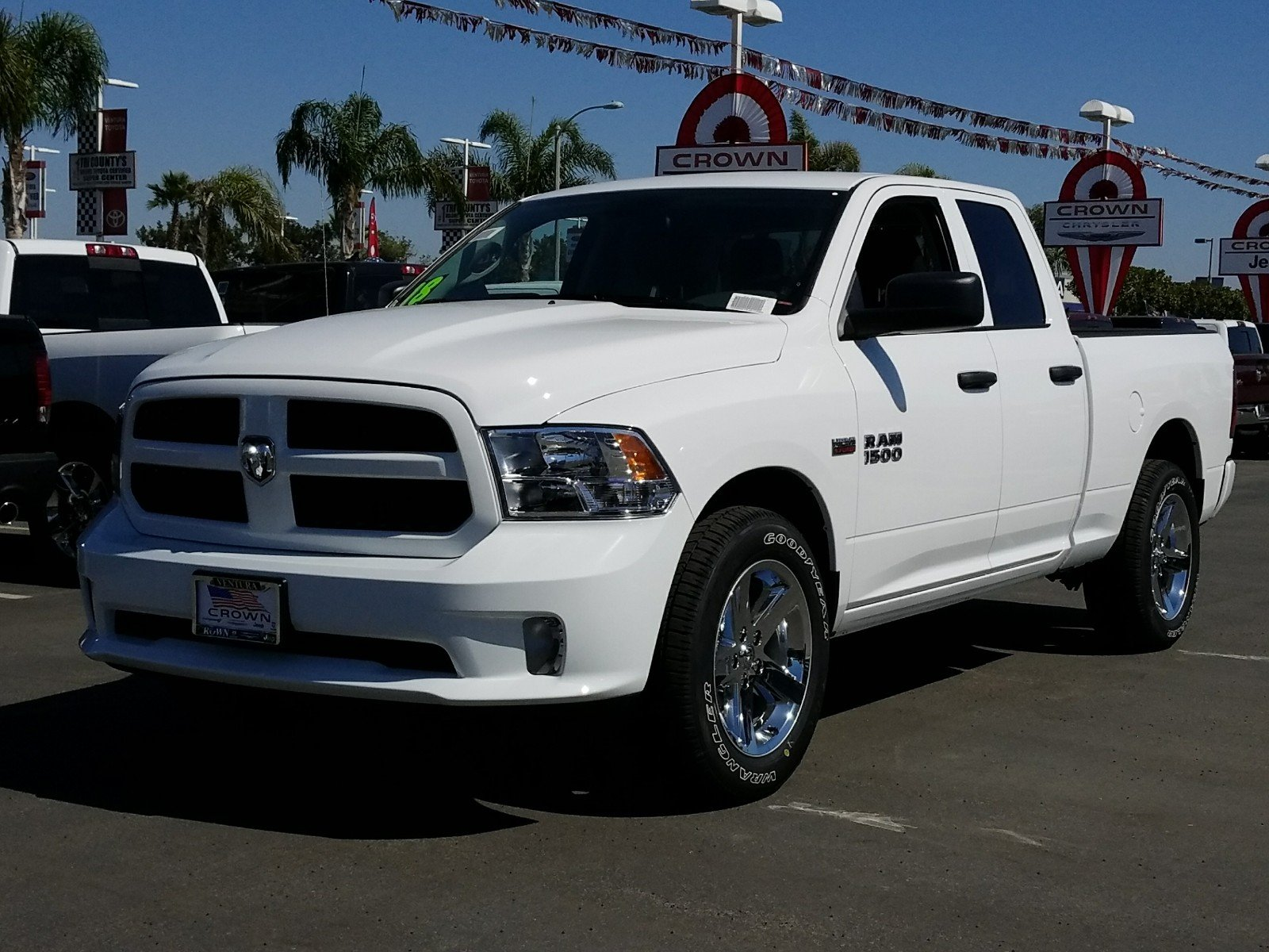 2018 Ram 1500 Quad Cab, Pickup #E1132 - photo 1