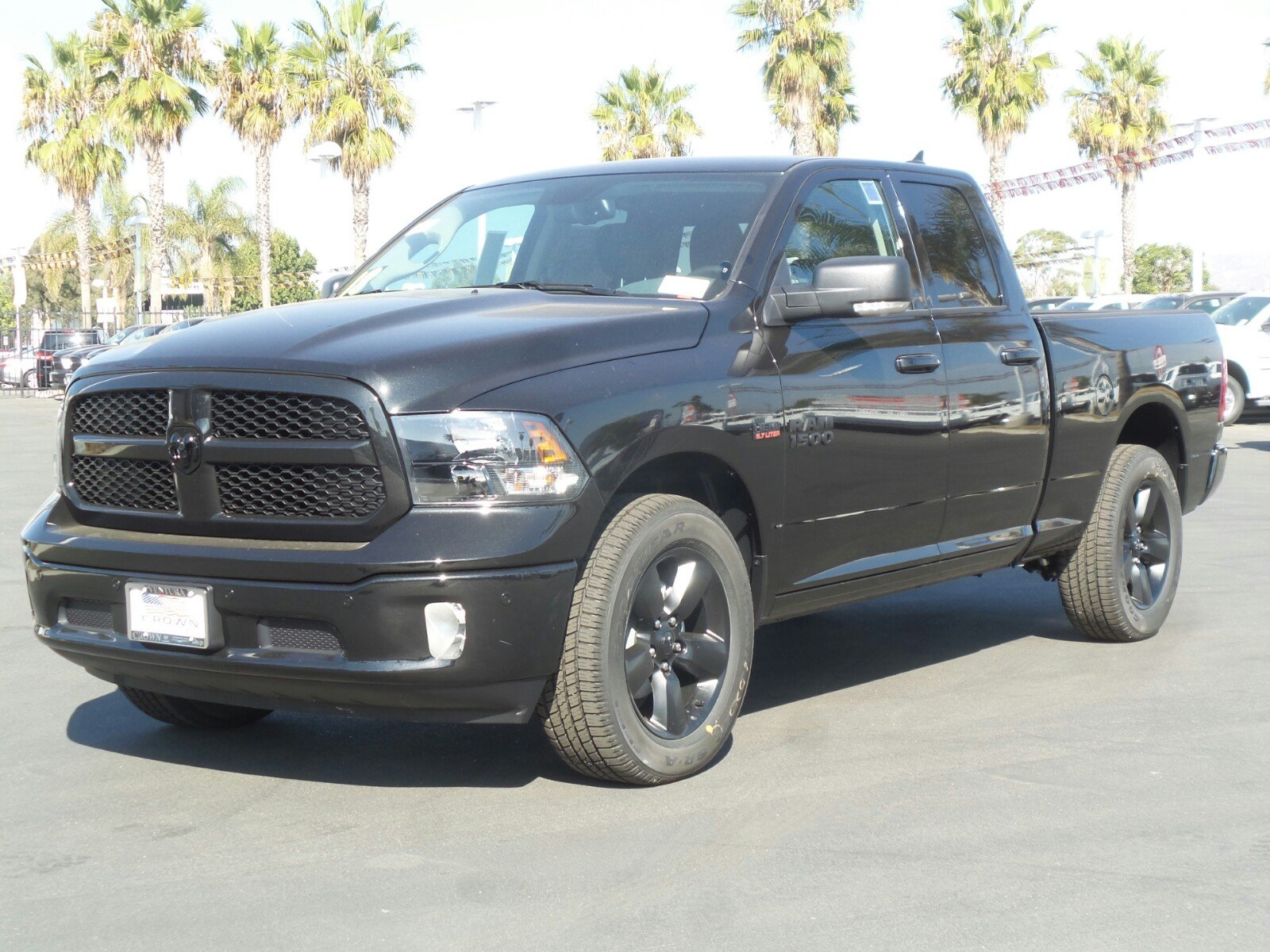 2018 Ram 1500 Quad Cab Pickup #E1182 - photo 1
