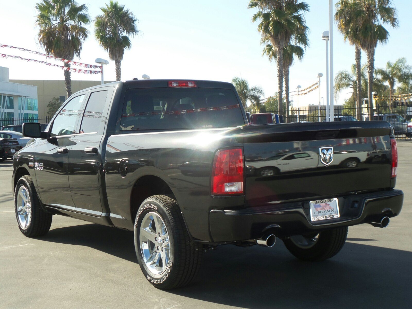 2018 Ram 1500 Quad Cab 4x2,  Pickup #E1187 - photo 2