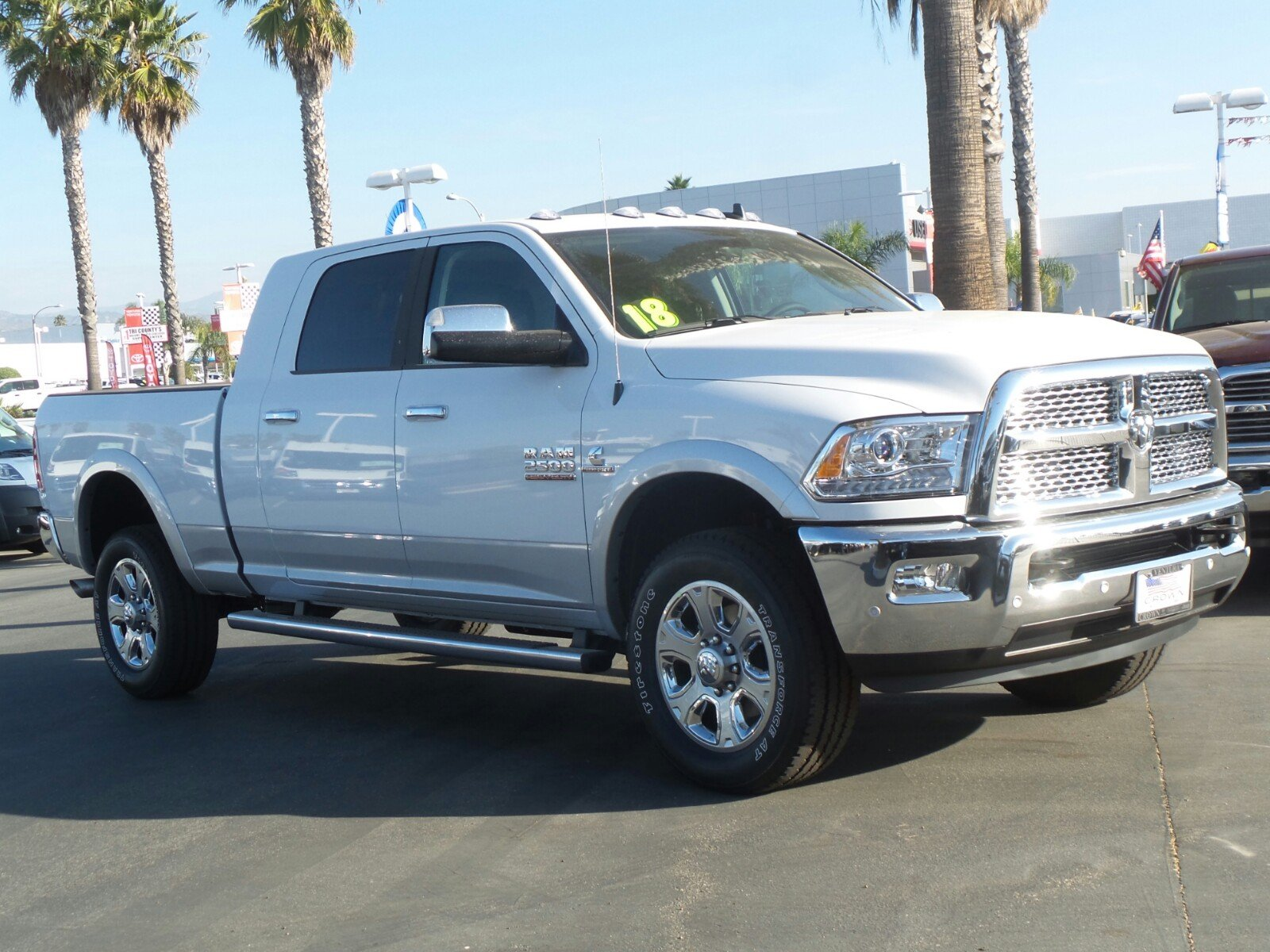 2018 Ram 2500 Mega Cab 4x4,  Pickup #E1192 - photo 4