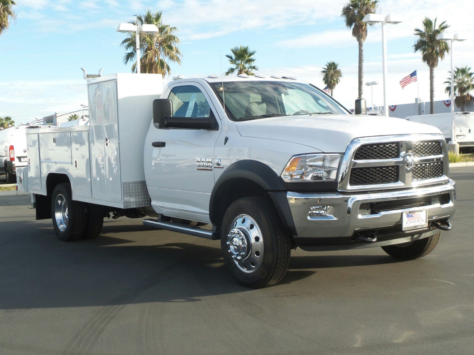 2018 Ram 5500 Regular Cab DRW 4x4,  Scelzi Welder Body #E1198 - photo 4