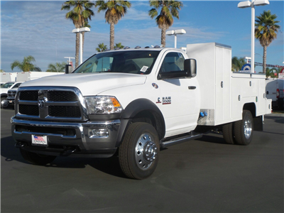 2018 Ram 5500 Regular Cab DRW 4x4, Scelzi Signature Service Welder Body #E1198 - photo 1