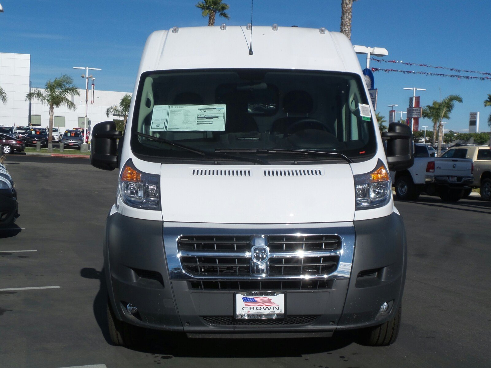 2018 ProMaster 2500 High Roof, Upfitted Van #E1293 - photo 2