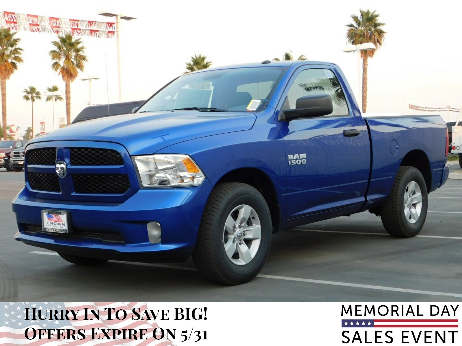 2018 Ram 1500 Regular Cab, Pickup #E1528 - photo 9
