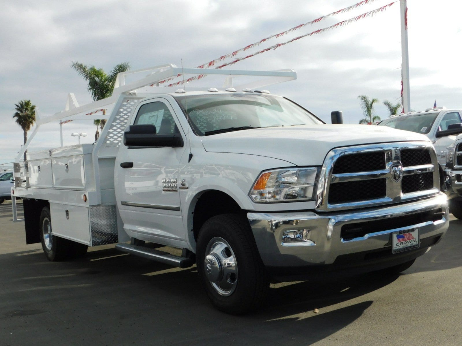 2018 Ram 3500 Regular Cab DRW, Scelzi Contractor Body #E1602 - photo 4