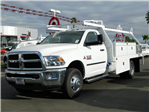 2018 Ram 3500 Regular Cab DRW, Scelzi Contractor Body #E1602 - photo 1