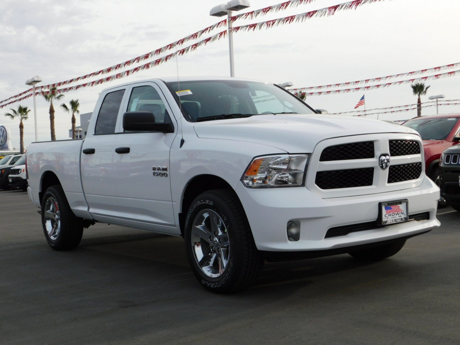 2018 Ram 1500 Quad Cab 4x4,  Pickup #E1651 - photo 3