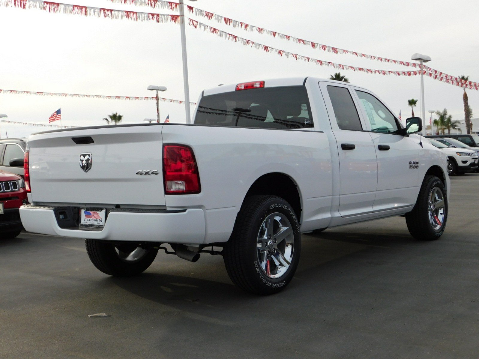 2018 Ram 1500 Quad Cab 4x4,  Pickup #E1651 - photo 4