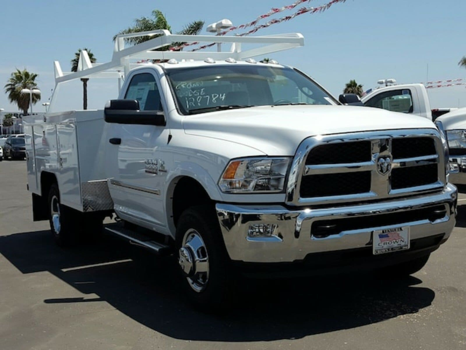 2018 Ram 3500 Regular Cab DRW, Scelzi Contractor Body #E1667 - photo 4
