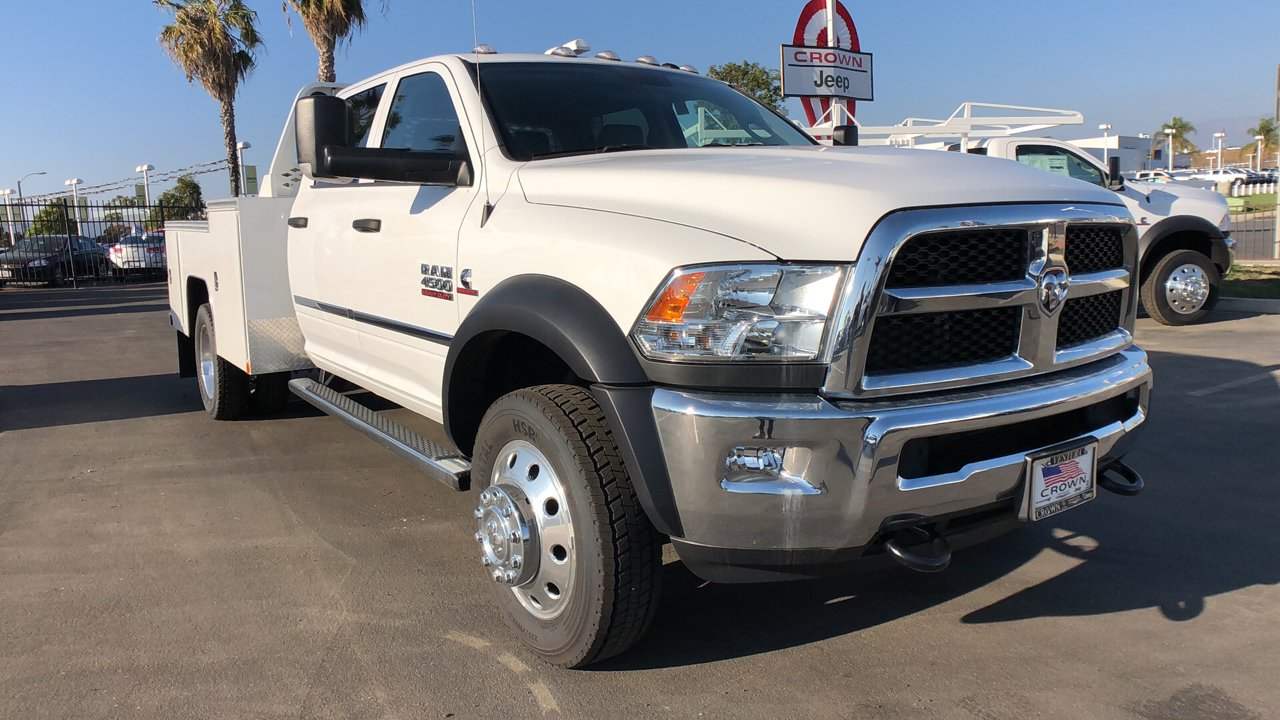 2018 Ram 4500 Crew Cab DRW 4x4,  Scelzi Hauler Body #E1684 - photo 5