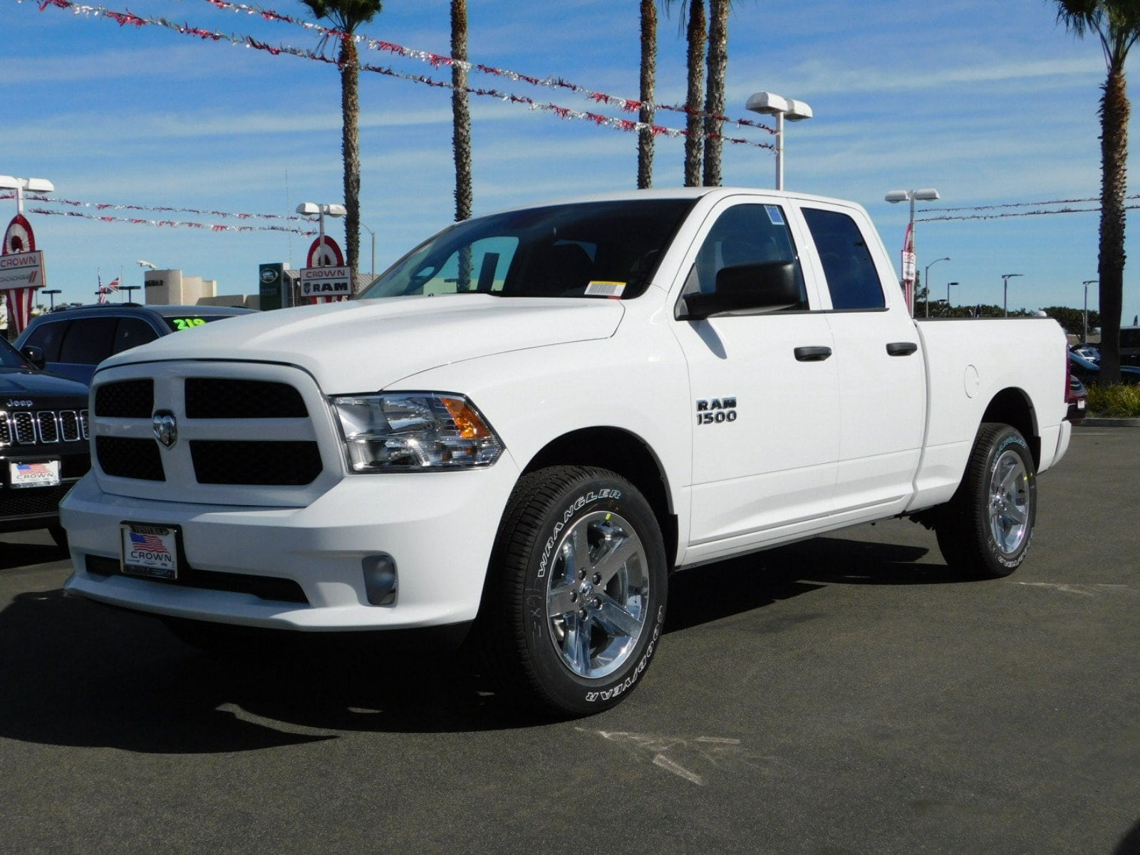 2018 Ram 1500 Quad Cab 4x4,  Pickup #E1859 - photo 1