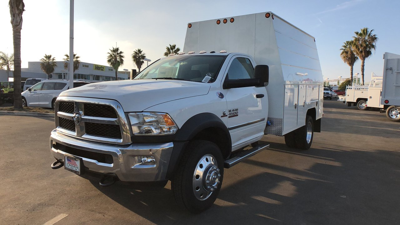 2018 Ram 4500 Regular Cab DRW 4x2,  Scelzi Service Utility Van #E1875 - photo 3