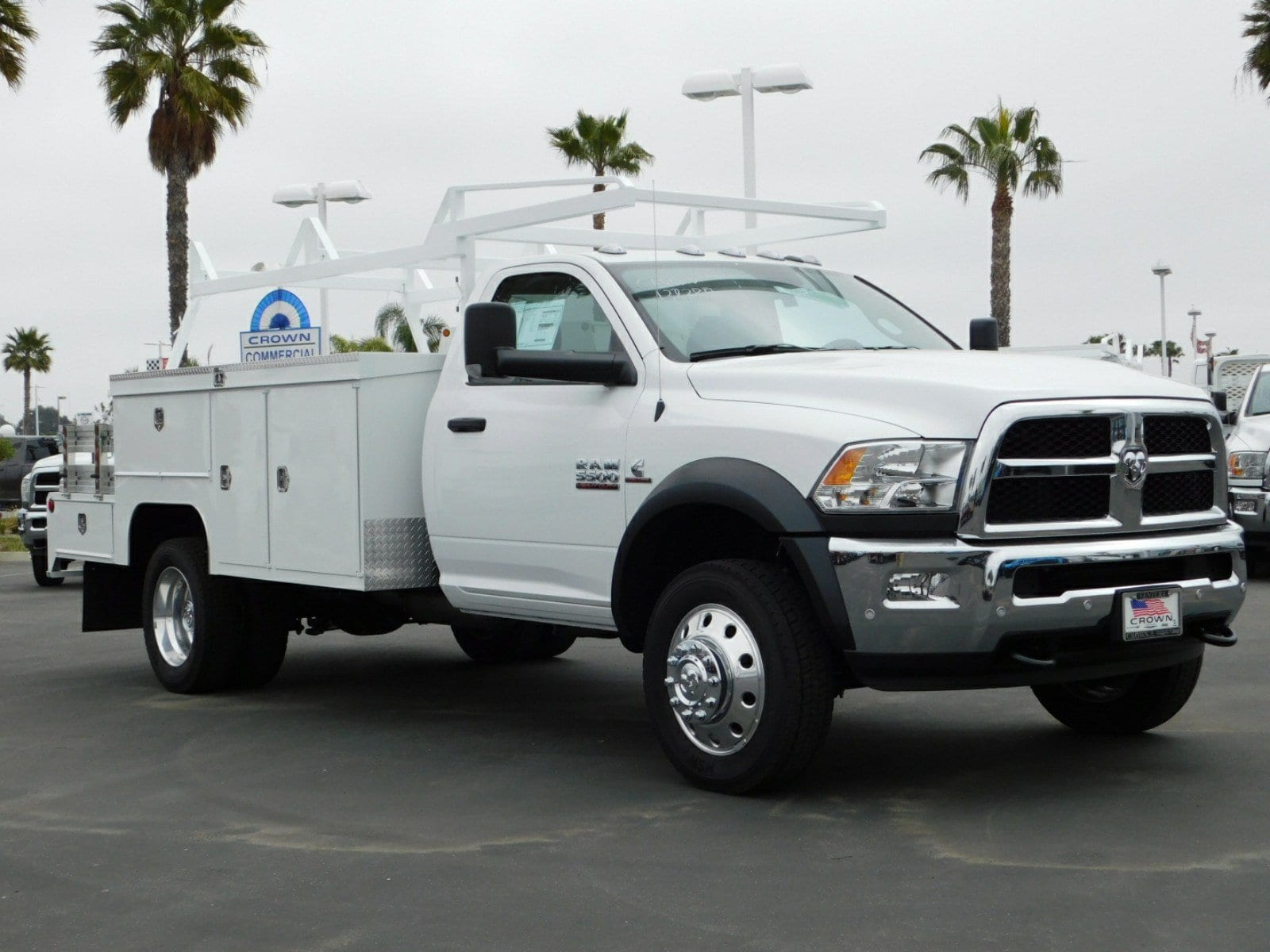 2018 Ram 5500 Regular Cab DRW 4x2,  Scelzi Combo Body #E1884 - photo 4