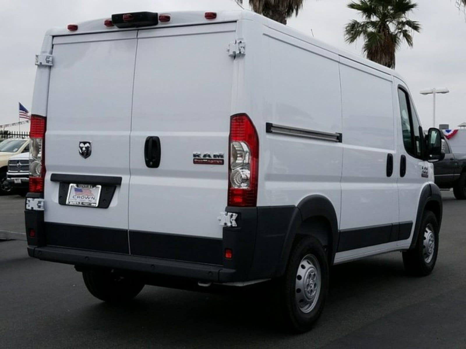 2018 ProMaster 1500 Standard Roof FWD,  Empty Cargo Van #E1888 - photo 6