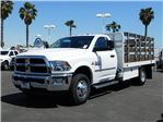 2018 Ram 3500 Regular Cab DRW 4x2,  Scelzi Stake Bed #E1965 - photo 1