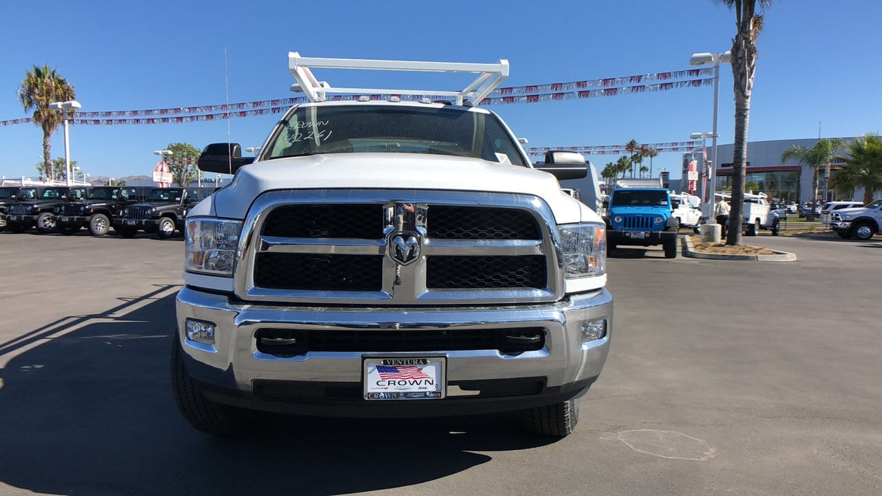 2018 Ram 3500 Crew Cab 4x4,  Scelzi Service Body #E2177 - photo 3