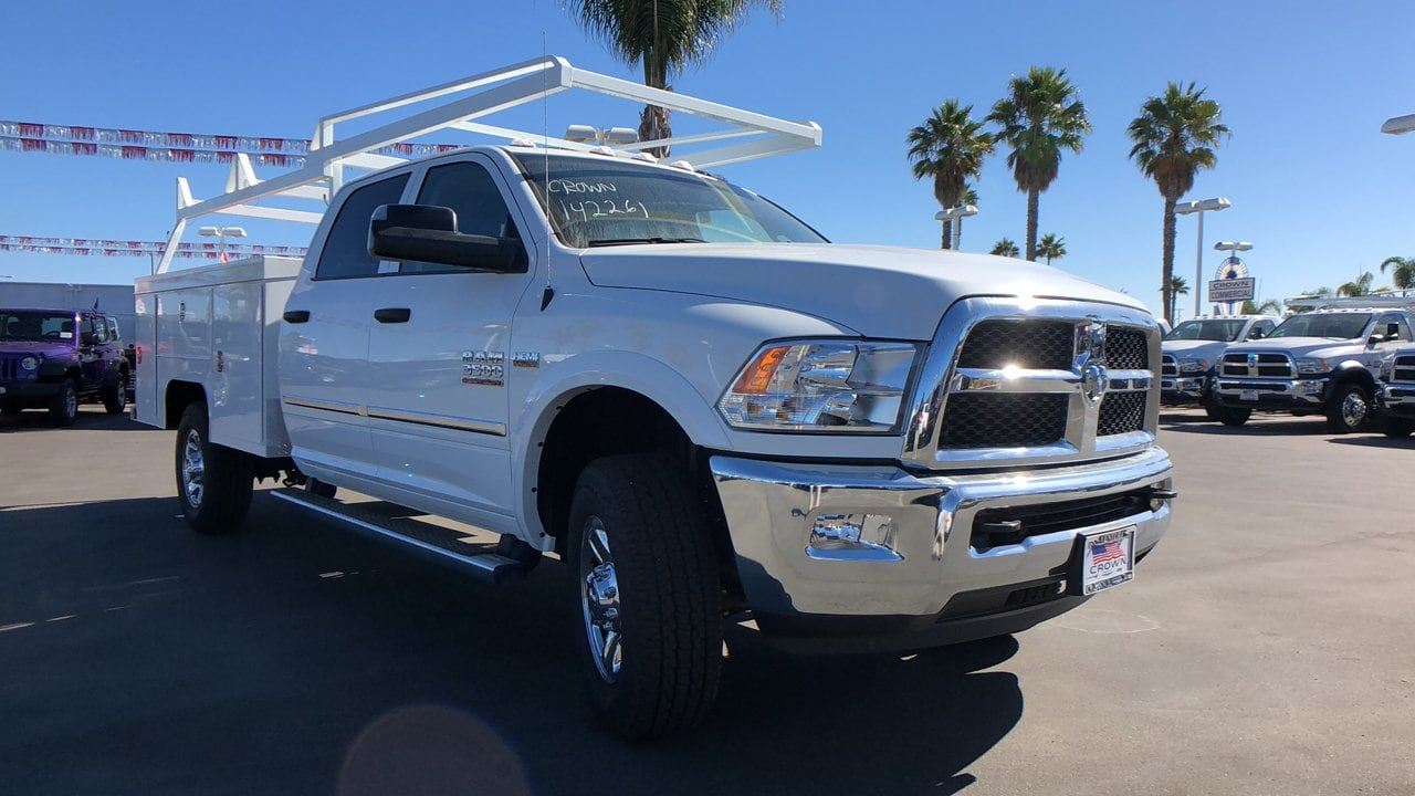 2018 Ram 3500 Crew Cab 4x4,  Scelzi Service Body #E2177 - photo 4