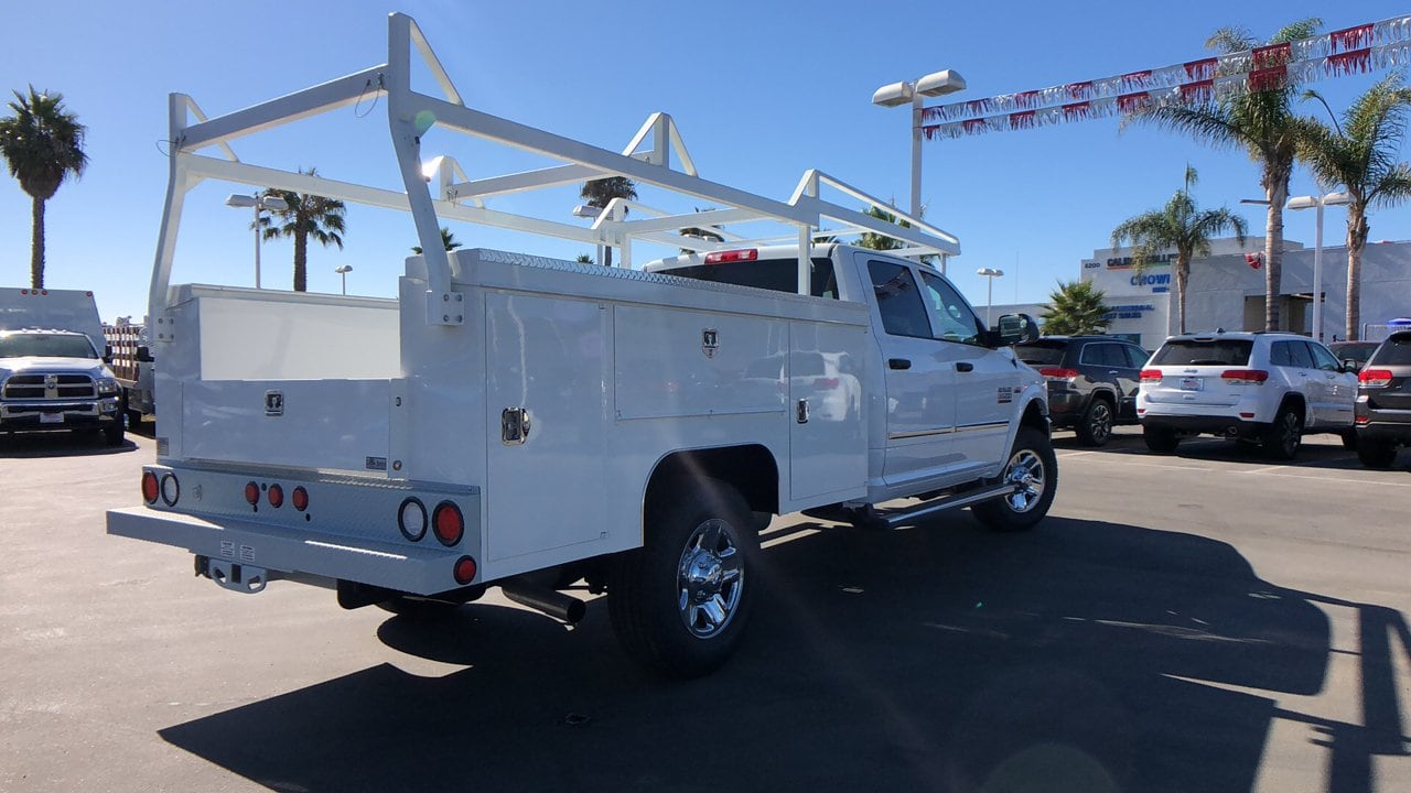 2018 Ram 3500 Crew Cab 4x4,  Scelzi Service Body #E2177 - photo 7
