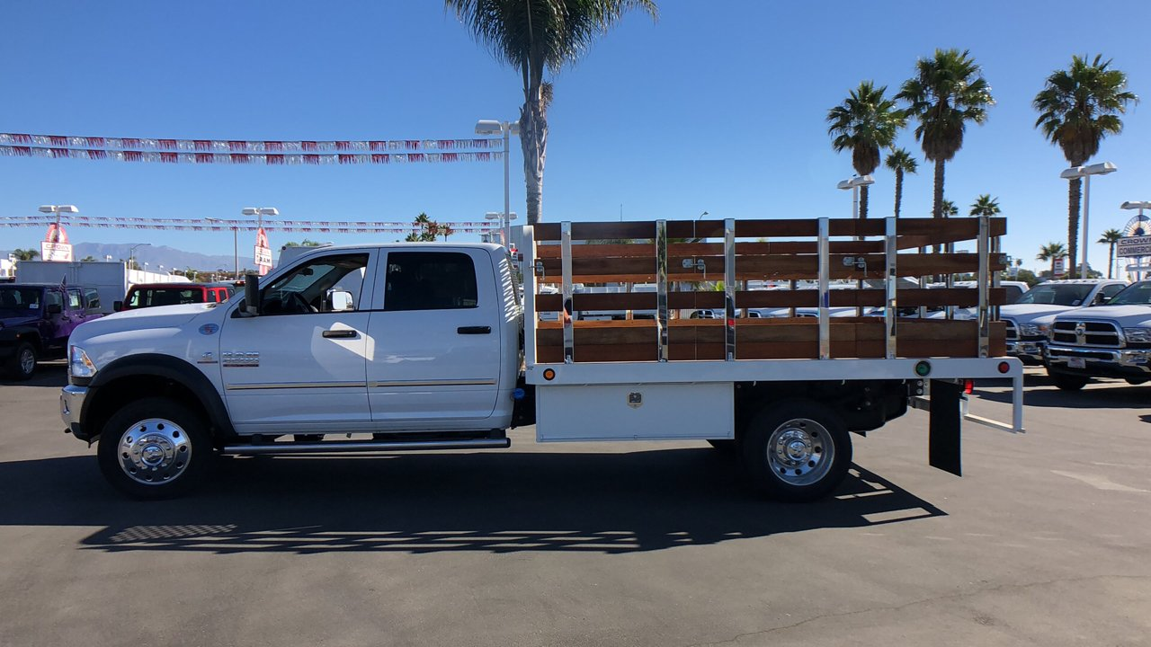 2018 Ram 4500 Crew Cab DRW 4x2,  Scelzi WFB Stake Bed #E2197 - photo 7