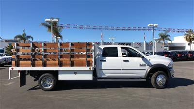 2018 Ram 4500 Crew Cab DRW 4x2,  Scelzi WFB Stake Bed #E2197 - photo 4