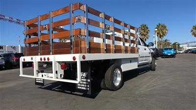 2018 Ram 4500 Crew Cab DRW 4x2,  Scelzi WFB Stake Bed #E2197 - photo 2