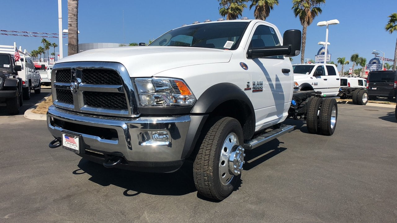 2018 Ram 4500 Regular Cab DRW 4x2,  Cab Chassis #E2701 - photo 1